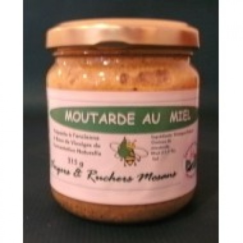 Moutarde au miel 200 g