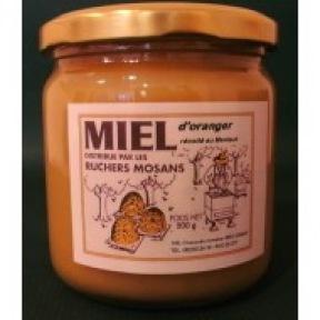 Miel de fleurs d'oranger 500 g D