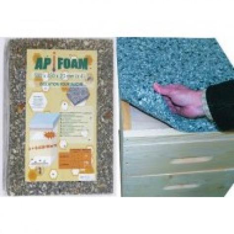 Apifoam mousse isolante 50x43x2 cm 4 pièces