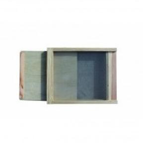 Plancher DB 10c Type ROBIDA  grillagé inox + tiroir