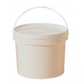 Seau plastique pour stocker le  miel