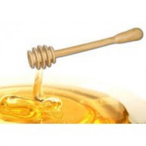 Cuillère en bois pour miel liquide