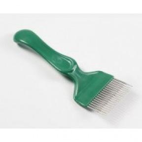 Fourchette plastique dents droites