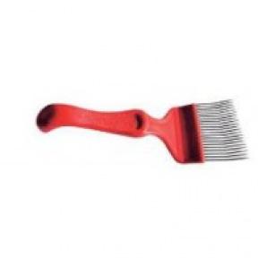 Fourchette plastique dents courbées
