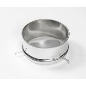 Filtre simple inox D:30 cm avec support