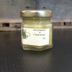 Cire d'abeilles à l'huile d'olive