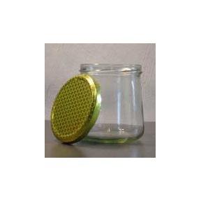 Pot 500g verre tronconique sans couvercle à visser 100p