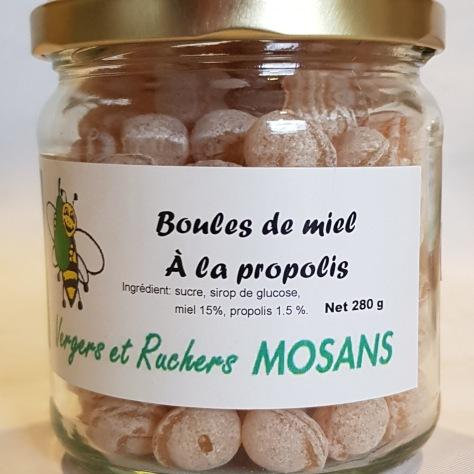 Boules de miel à la propolis 1 kg