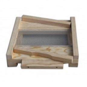 Plancher Warré grillagé simple